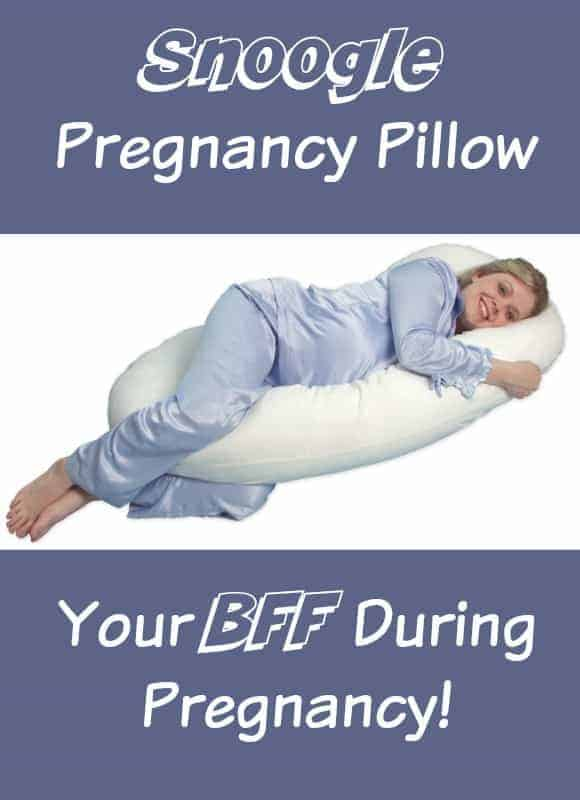 Find out why the Snoogle pregnancy pillow will be your BFF during pregnancy!