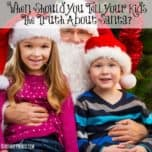 With the holidays officially just around the corner, it is time to start thinking about When Should You Tell Your Kids The Truth About Santa? We have some parenting tips to help you out! This subject can be controversial for many, but we feel it is a pretty standard holiday subject most parents will address at some point or another.