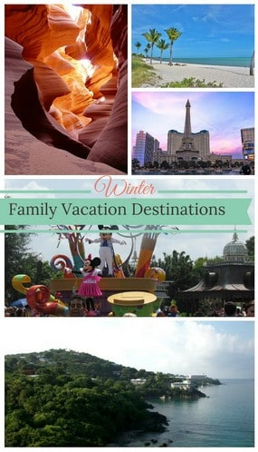 Winter family vacations