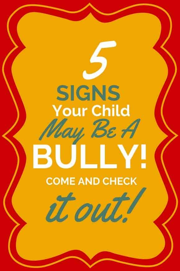 5 Warning Signs That Your Kid Might Be a Bully