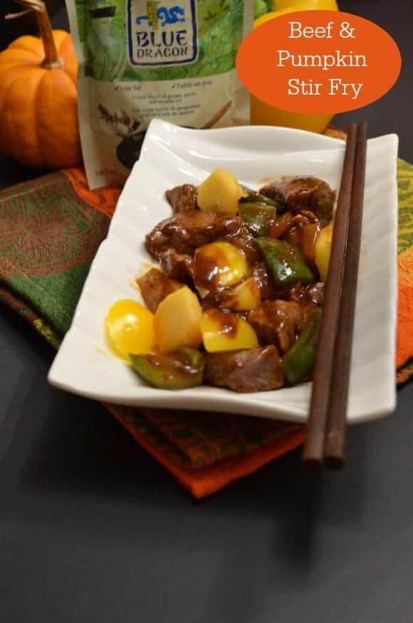 Beef and Pumpkin Stir Fry : An Easy Dinner Recipe #Wokstars