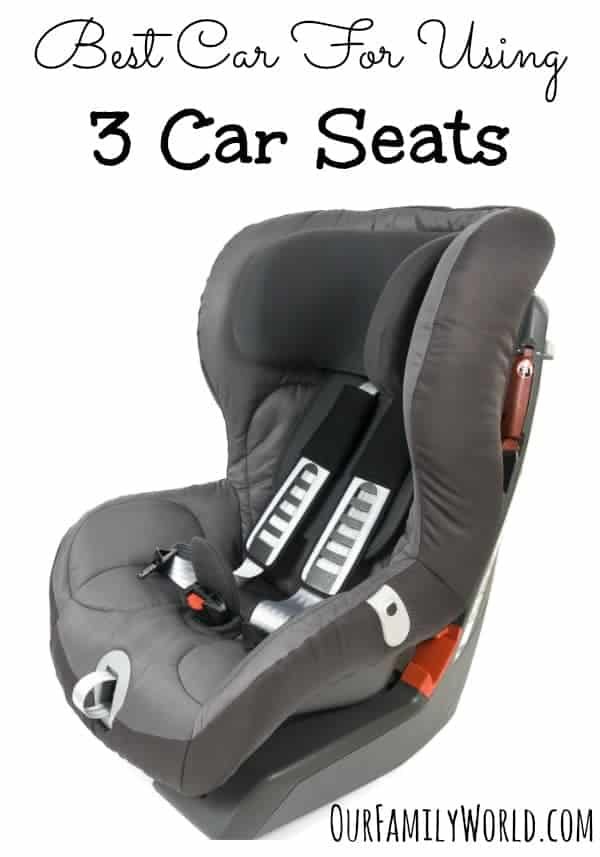 Thinking of upgrading your ride after struggling to fit three kids in the back of a small car? Check out our pick for the best car for using 3 car seats.