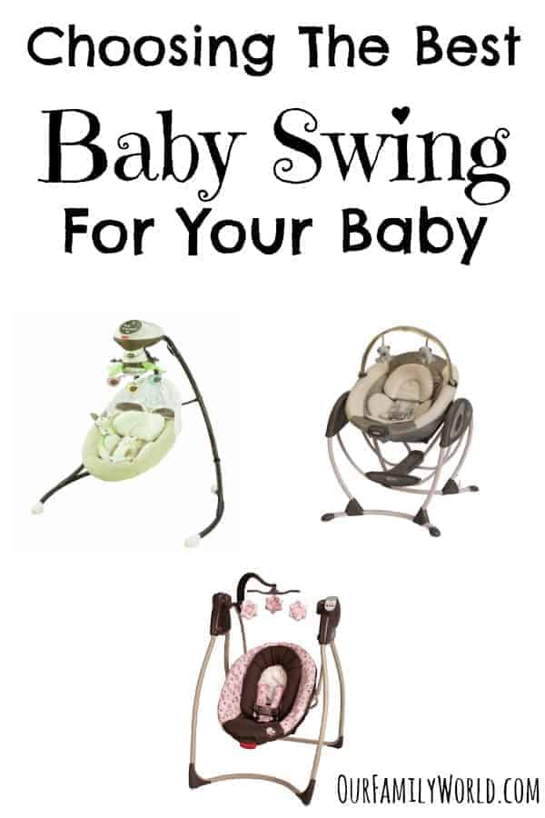Planning your baby's nursery? A baby swing is a great way to soothe your infant and give your arms a break! Check out our parenting tips for choosing the best baby swing that's safe, affordable and right for your precious bundle of joy!
