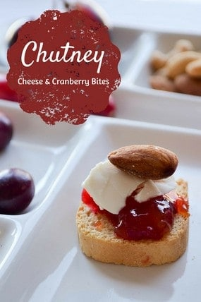 Holiday Appetizer Recipe Chutney Cheese Bites