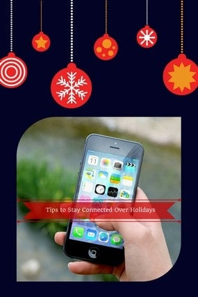 Check out Kimberly Moffit's tips for keeping connected during the holidays and find out how WIND Mobile can help you do it without busting your budget!