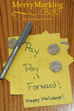 Merry Marking Pay it Forward