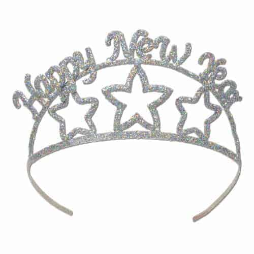 NYE Tiara BUDGET FRIENDLY NEW YEARS EVE DECORATIONS FOR THE HOME