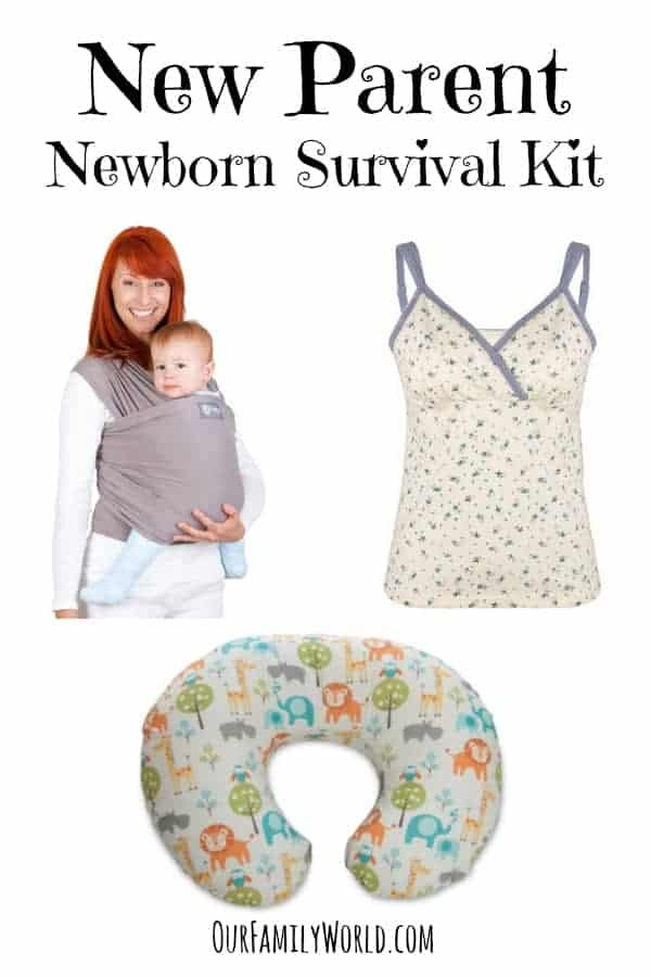 Parenting Tips for New Parents: Give New Parents this awesome Newborn Survival Kit to make those first few weeks and months easier! Includes the necessities & nice extras!