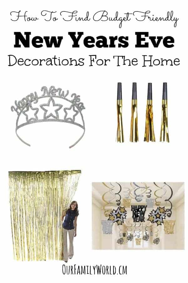 Budget Friendly New Years Eve Decorations For The Home