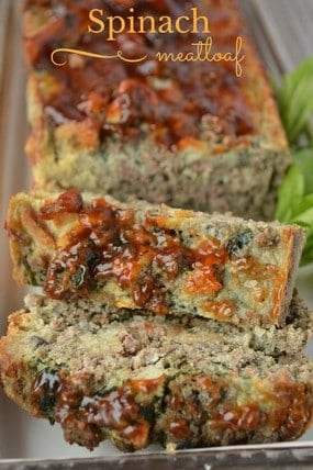 Healthy Recipe for Kids: Spinach Mushroom Meat Loaf
