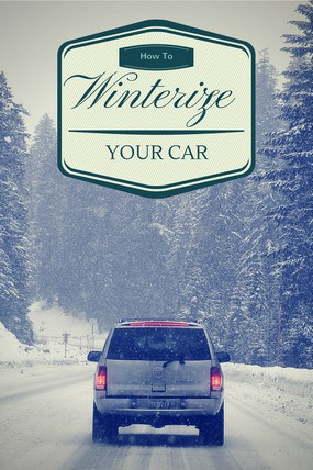 Learn how to winterize your car before the temperatures really take a dip! You don't want to be stuck in a winter wonderland with a dead battery or bad tires!
