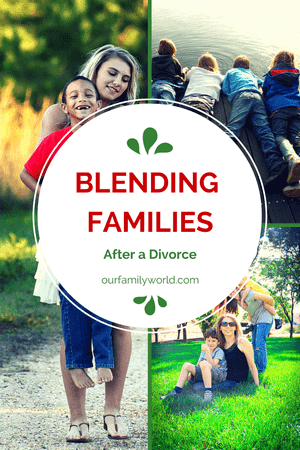 Blended families after a divorce