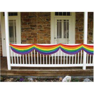 Rainbow bunting ST. PATRICK'S DAY DECORATION IDEAS