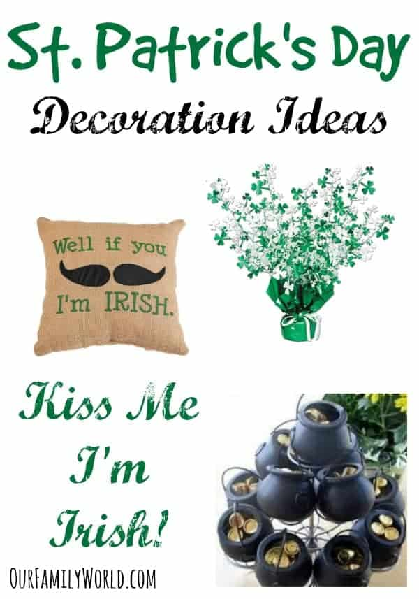 Getting excited about the big day to celebrate your Irish Pride? Check out our favorite St. Patrick's Day Decoration Ideas for your home!