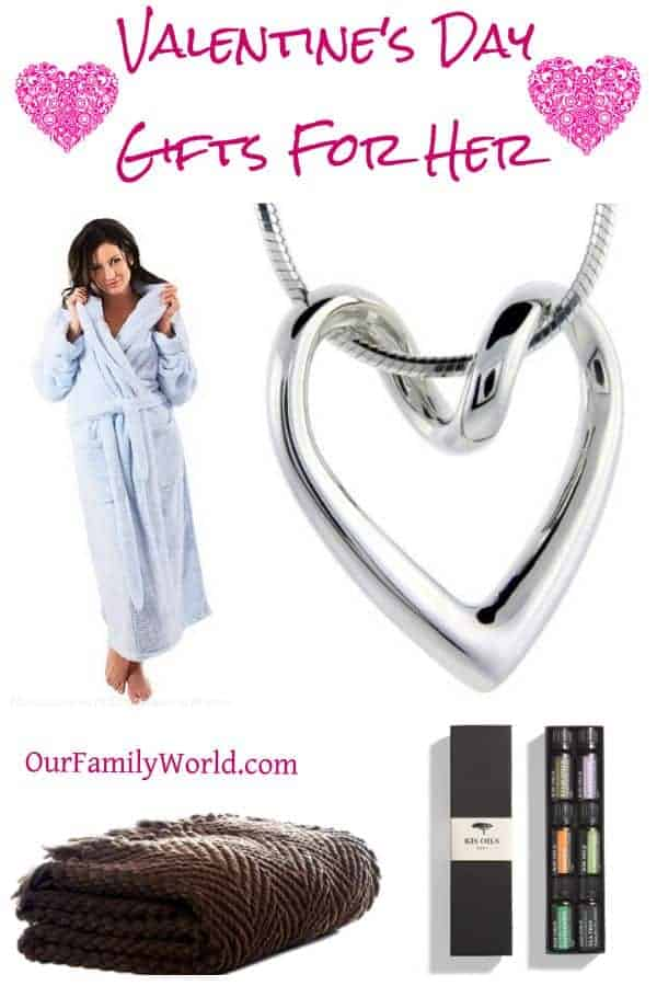 Show her your love with these Romantic Valentine's Day Gifts For Her this year! Wrap her in comfort, give her something sparkly and she'll be thrilled!