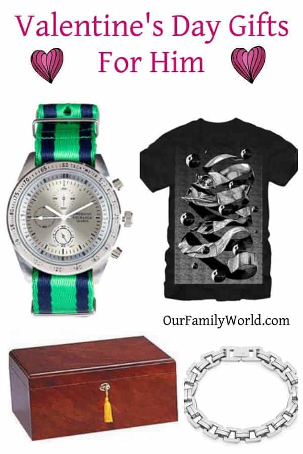 Perfect Valentine's Day Gifts for Him- Our Family World
