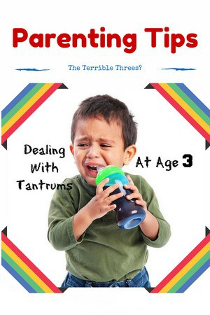 dealing with tantrums at age 3