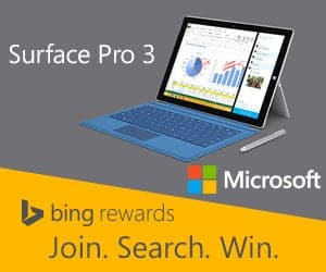 Enter cool sweepstakes with your Bing Rewards points!