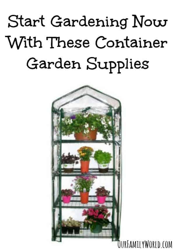 Container Garden Supplies