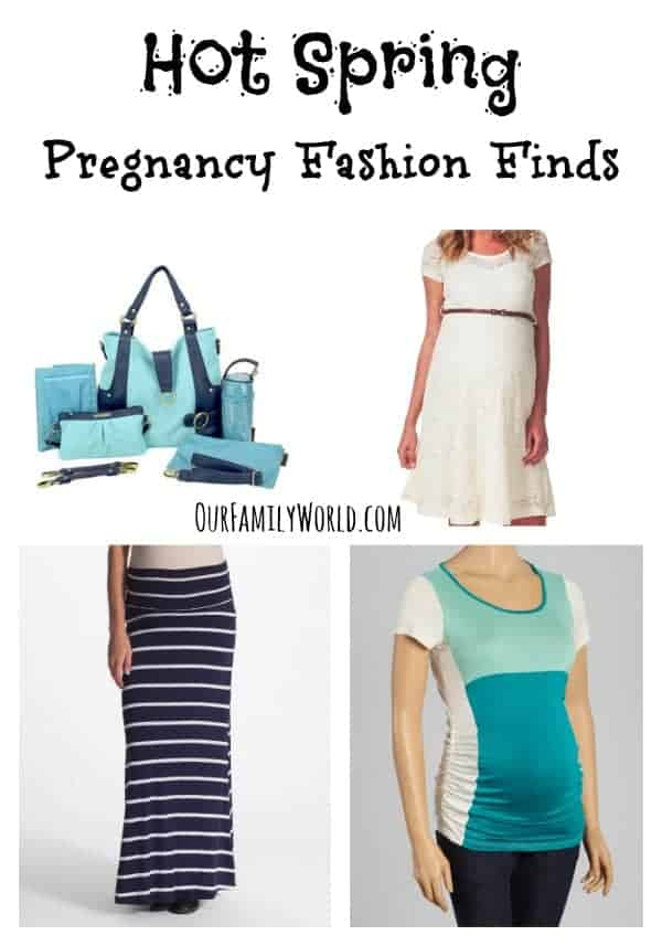 These Hot Spring Pregnancy Fashion Finds are perfect for mixing with your existing wardrobe to create gorgeous fashion forward looks that adjust with your growing belly.