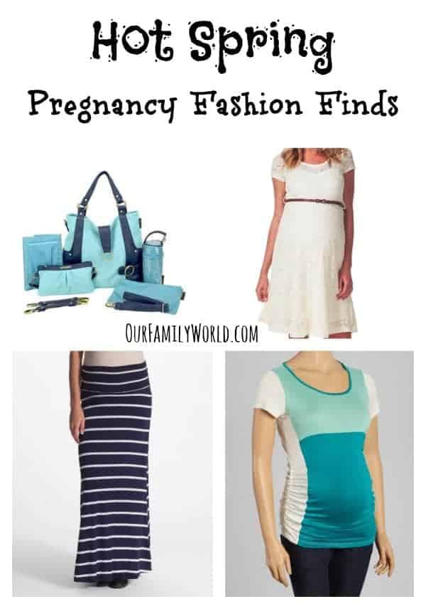 Spring Pregnancy Fashion Ideas