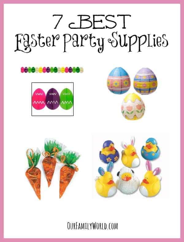 Planning a gathering at your house on Easter Sunday? Check out our favorite Easter party supplies to add an extra special touch to your event!