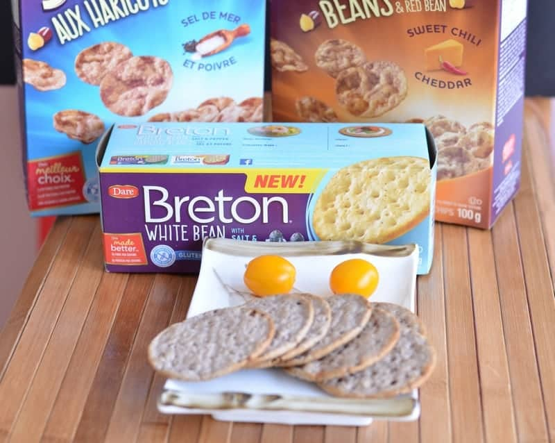 Filling Snacks on the Go with Breton Bean Crackers