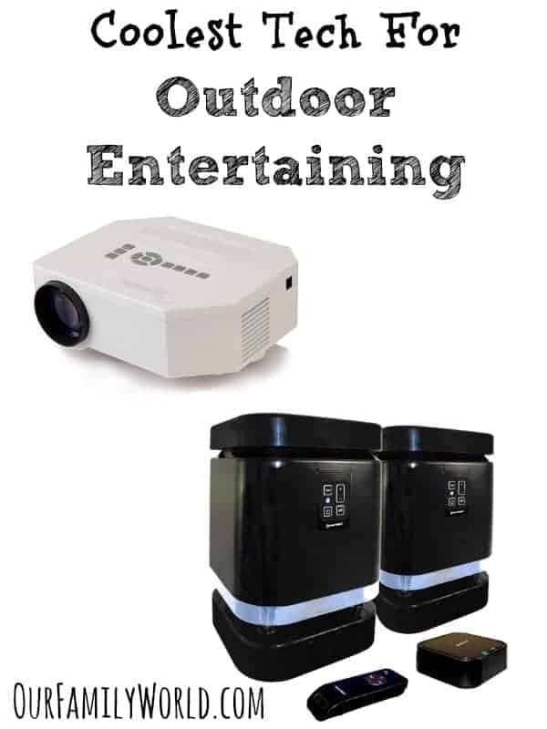 Planning fun backyard parties this spring & summer? Check out our favorite tech for outdoor entertaining to really take your event to the next level!