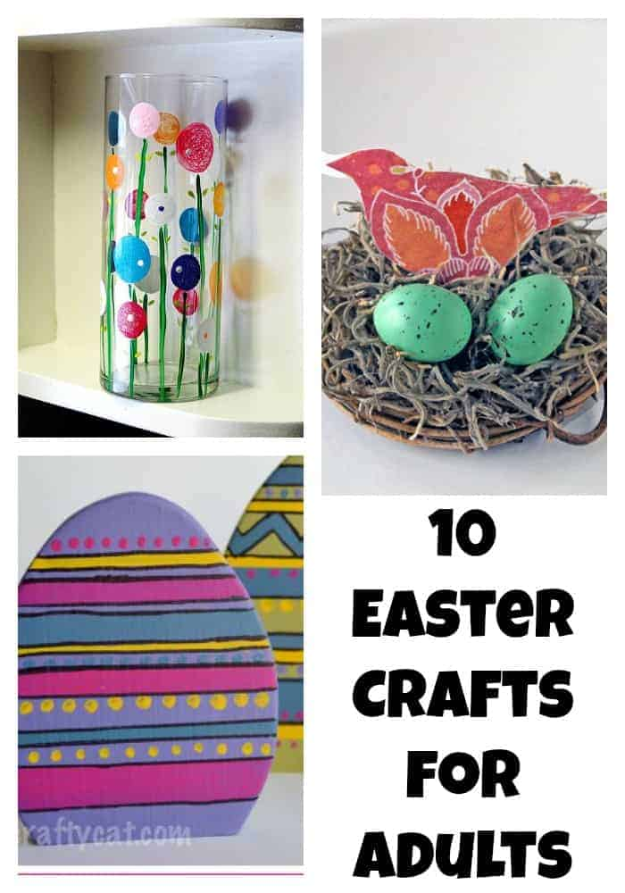 Beautiful easter crafts for adults ourfamilyworld for Spring craft ideas for adults