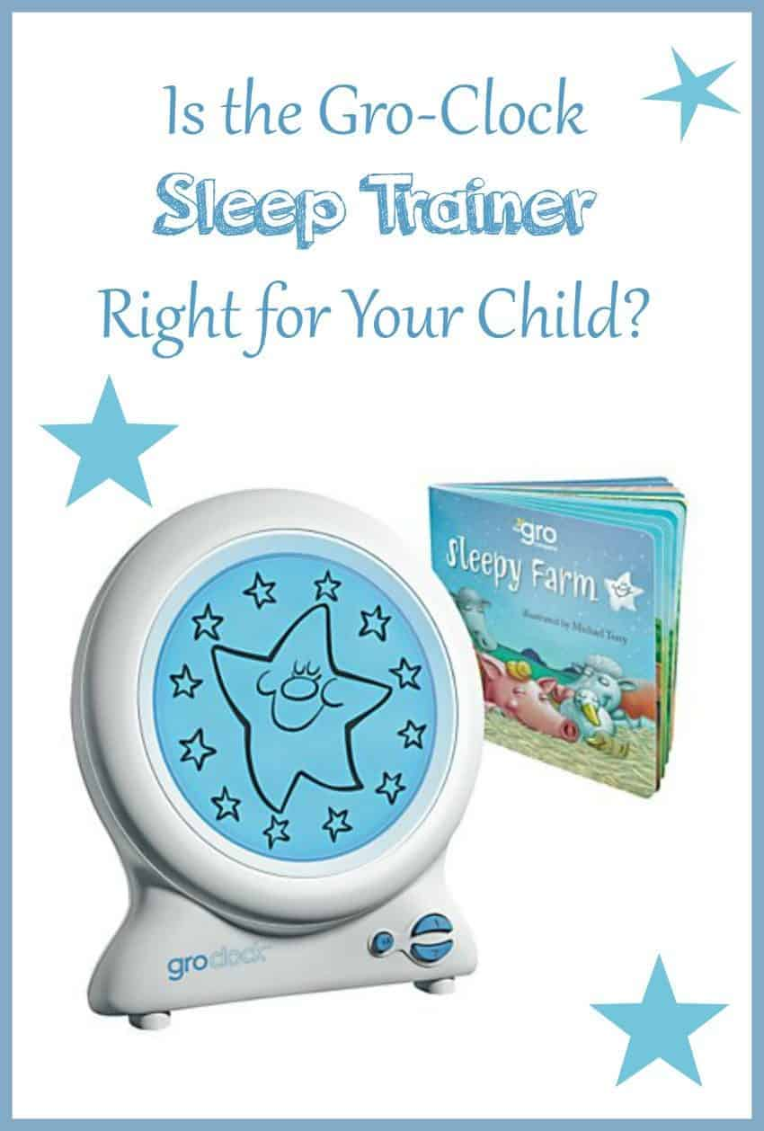 Looking for a fun and easy way to get your child's sleep schedule on the right track? Find out if the Gro-Clock sleep trainer is right for your child!