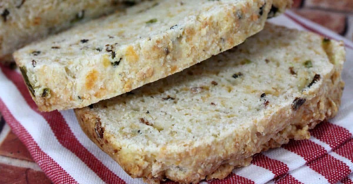 Jalapeno Pepper Cheesy Bread Recipe
