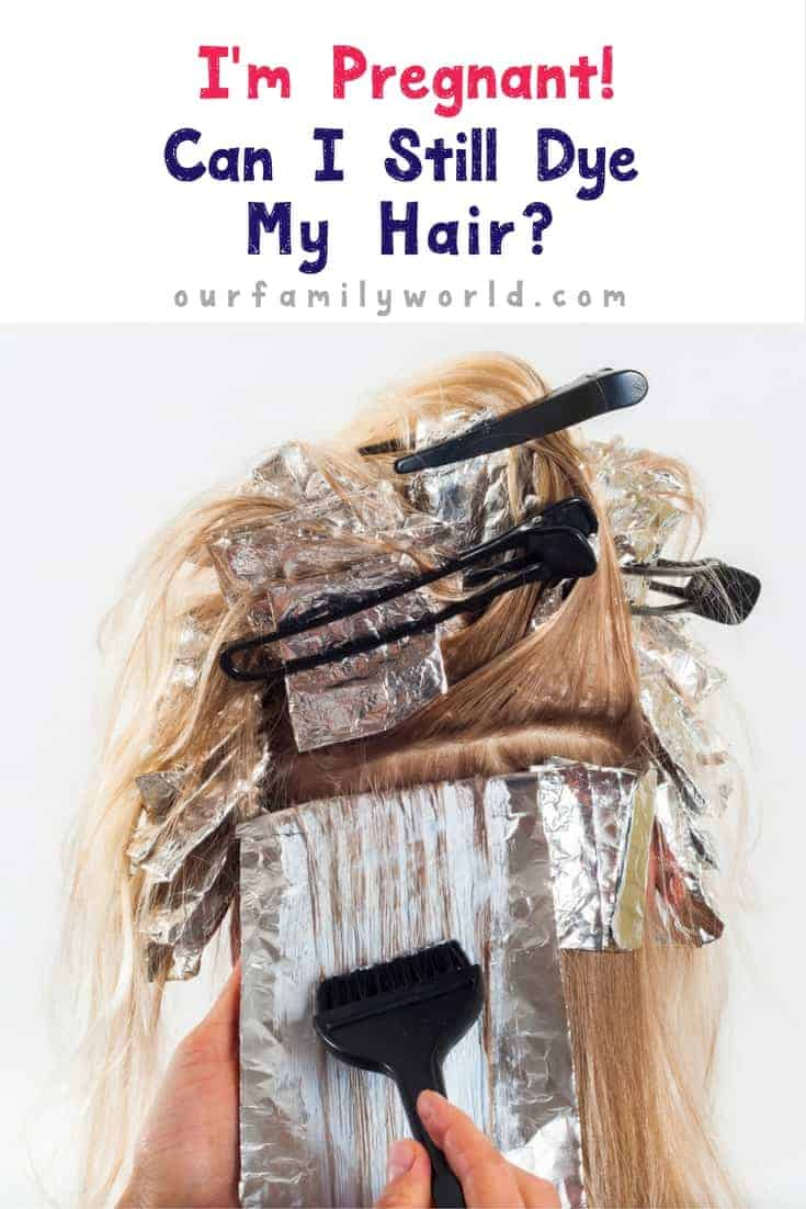 Many women wonder if they can continue their hair regimen and dye their hair when pregnant? Find out if you can safely continue and some really fun alternatives to keep you feeling beautiful and stylish.