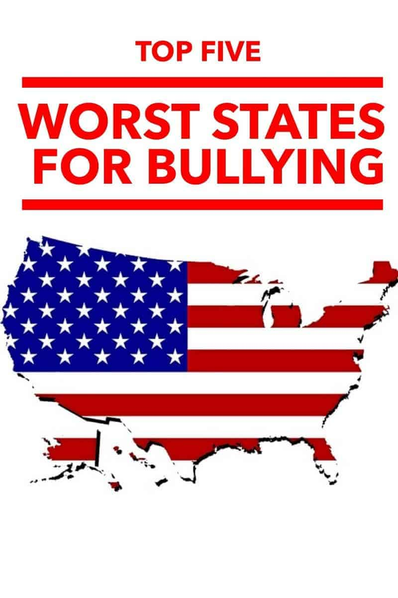 Planning a move? Check out these states that are statistically the worst at handling bullying before you decide where to set down roots for your family.