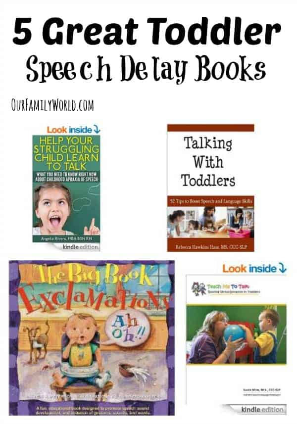 Looking for great books to help you overcome a toddler speech delay? Check out these five fantastic suggestions that will get your tot talking in no time!
