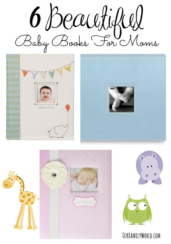 These beautiful baby books for moms make perfect Mother's Day gifts for new and expecting mommies! Check them out and pick your favorite!