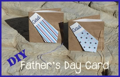 DIY Fathers Day Cards ideas