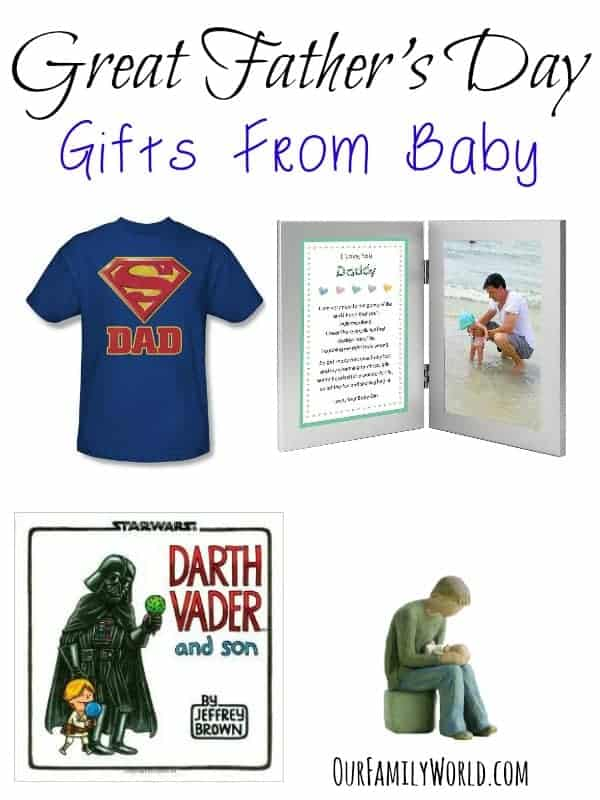 Looking for some super cute Father's Day gifts from baby? These gift ideas are so much fun and perfect for your special dad's first Father's Day!