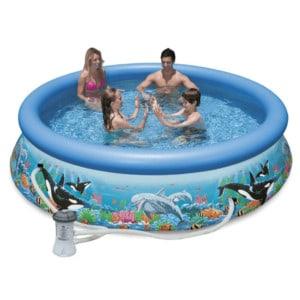 Intex Ocean Reef Easy Backyard Pool Set