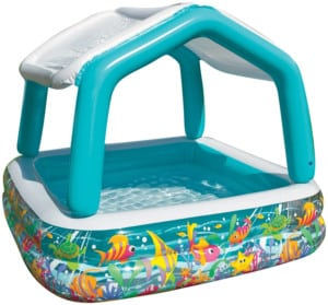Intex Sun Shade Inflatable Backyard Pool