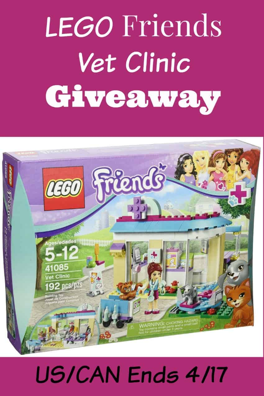 LEGO Friends Vet Clinic Giveaway (US & CAN) Ends 4/17/2015
