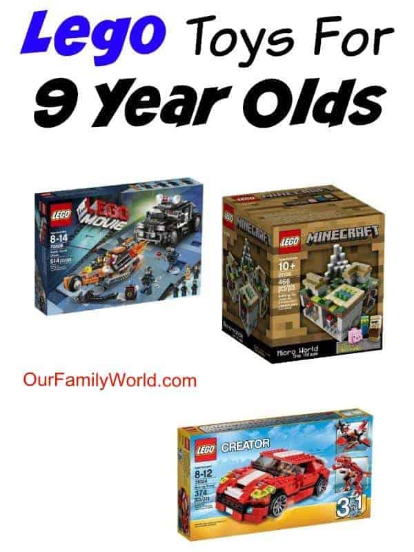 Looking for ideas for your gift cabinet or your own kids? Check out our favorite LEGO toys for 9 year olds! Kids are sure to love these popular kits!