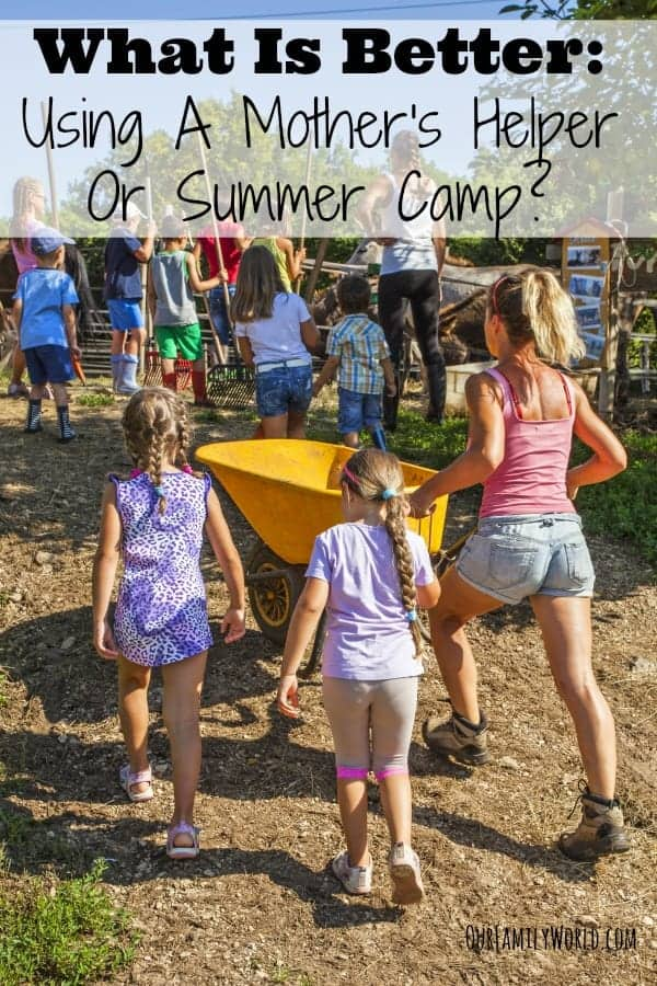 With the kids out from school, it's time to think childcare options! Check out our tips for choosing between a mother's helper or summer camp for your kids.