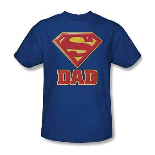 Super Dad TShirt Father's Day gifts from baby