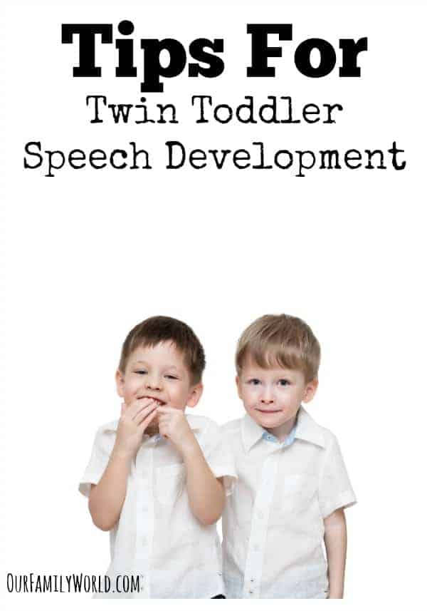 Need parenting tips for twin toddler speech development? Check out our ideas to help your twins develop their language skills together and independently.