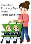 Planning a family vacation with little ones? Check out our vacation packing tips for travel with toddlers to make your family travel much easier!