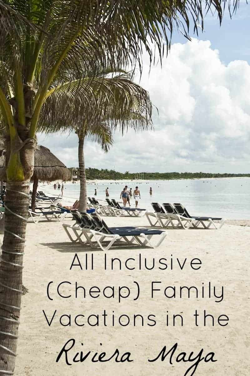 affordable family vacations all inclusive cheap family vacations in the riviera 12063