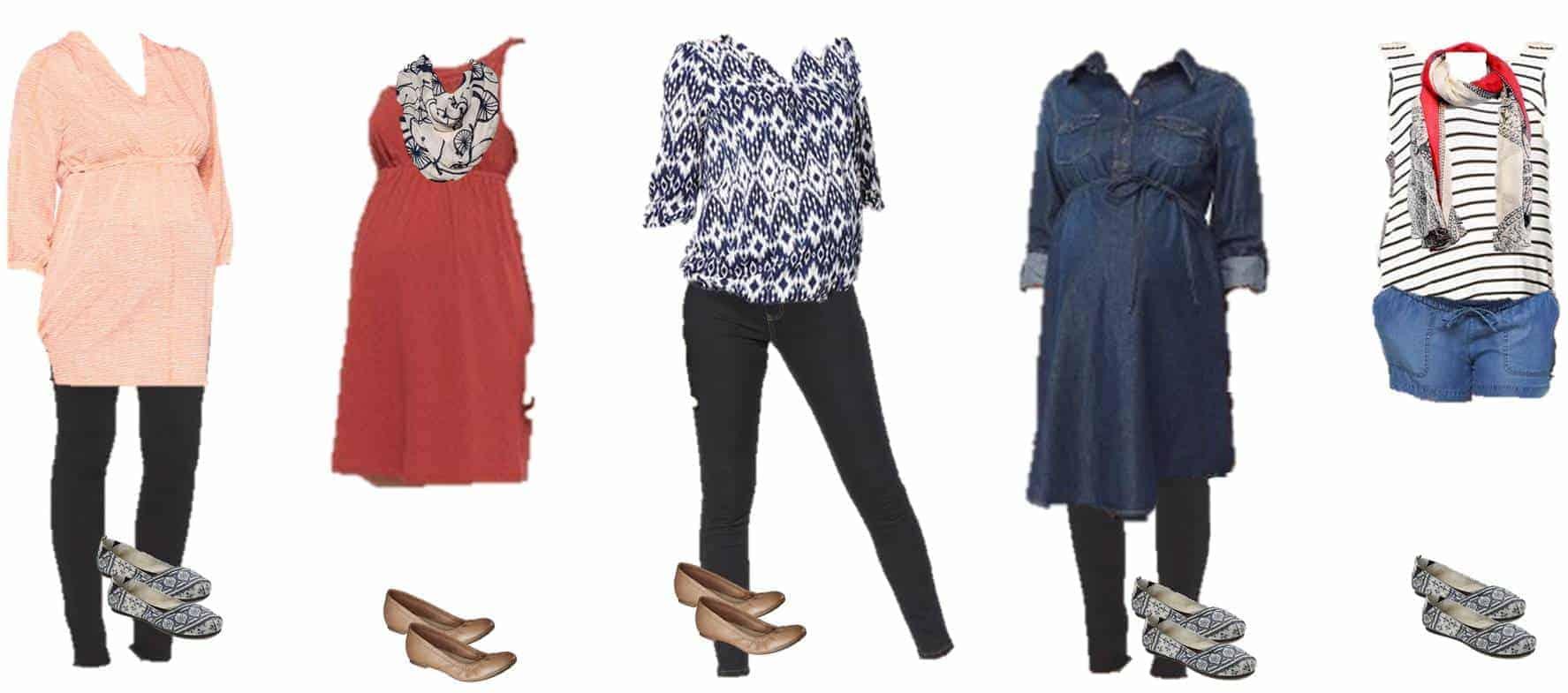 Summer Pregnancy Maternity Fashion