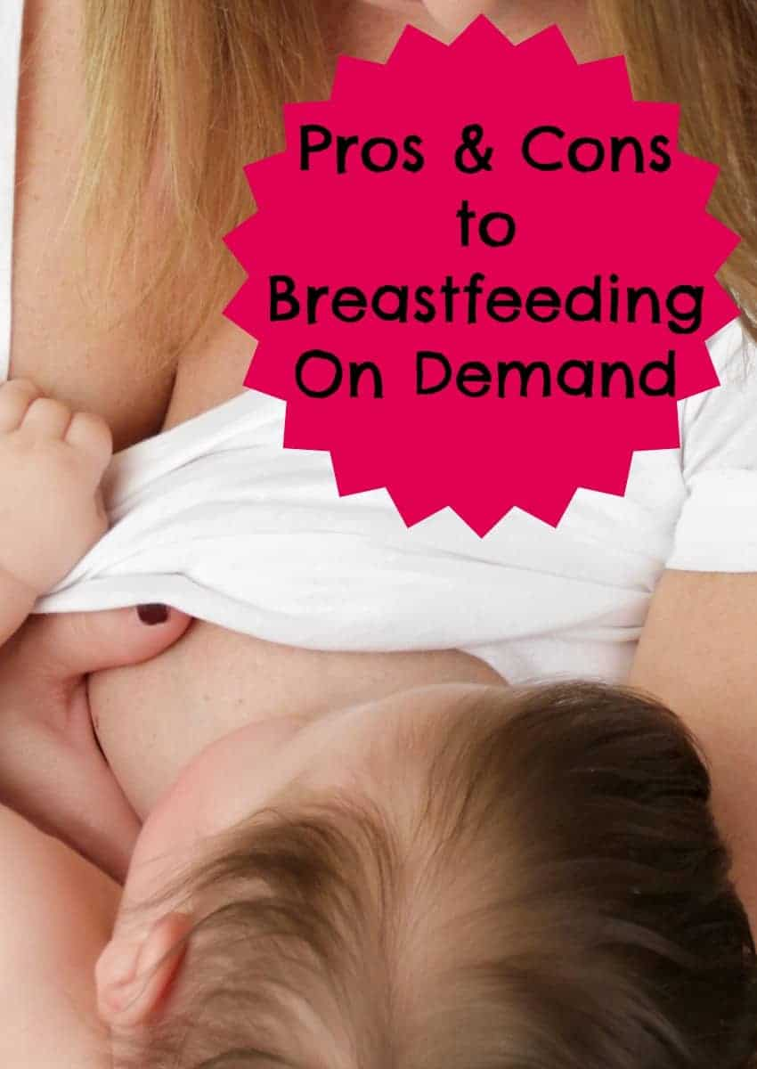 Is breastfeeding on demand the best way to feed your baby? Look at the pros and cons of letting your baby decide when to eat, then make your own decision.