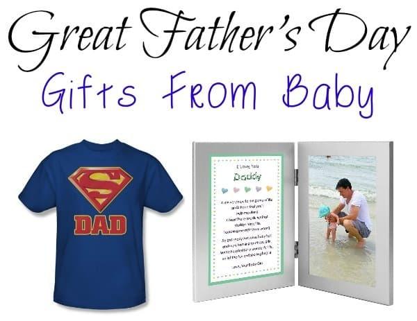 Great Father's Day Gifts From Baby - Our Family World