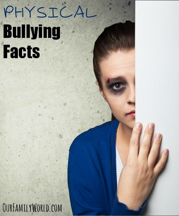 These physical bullying facts are important for every kid and parent to know to help prevent bullying. Physical bullying can leave lifelong emotional scars.